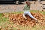 raking leaves maggie 3